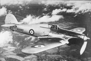 Hurricane in Flight
