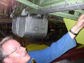 Mike fitting cover plate for under panel pick up