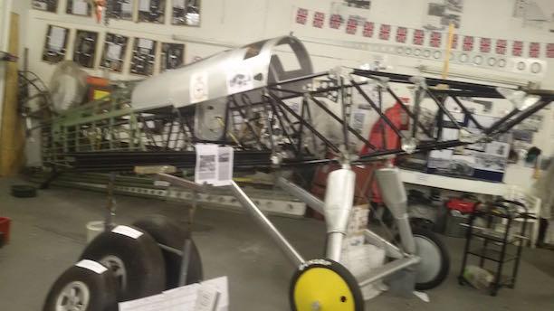 Fury in workshop