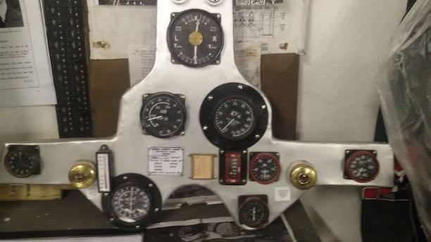Fury instrument panel