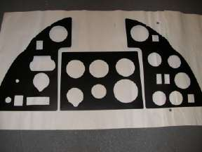 Instrument panel MKI