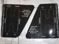 Cockpit labels