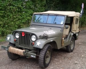 Willy jeep front side