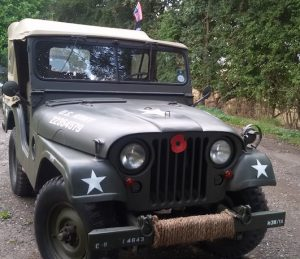 Willy jeep front view