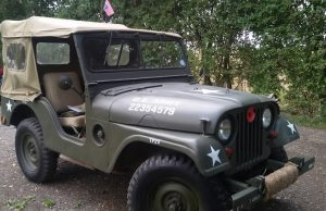 Willy jeep front side view