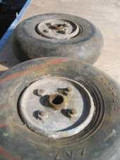 Set of Spitfire wheels