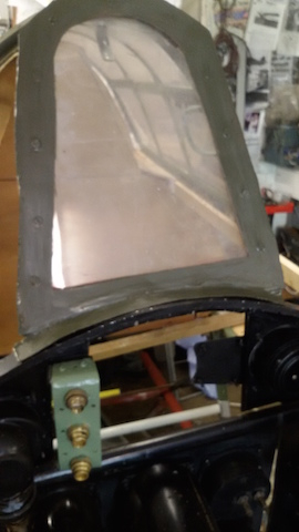 Windscreen and frame