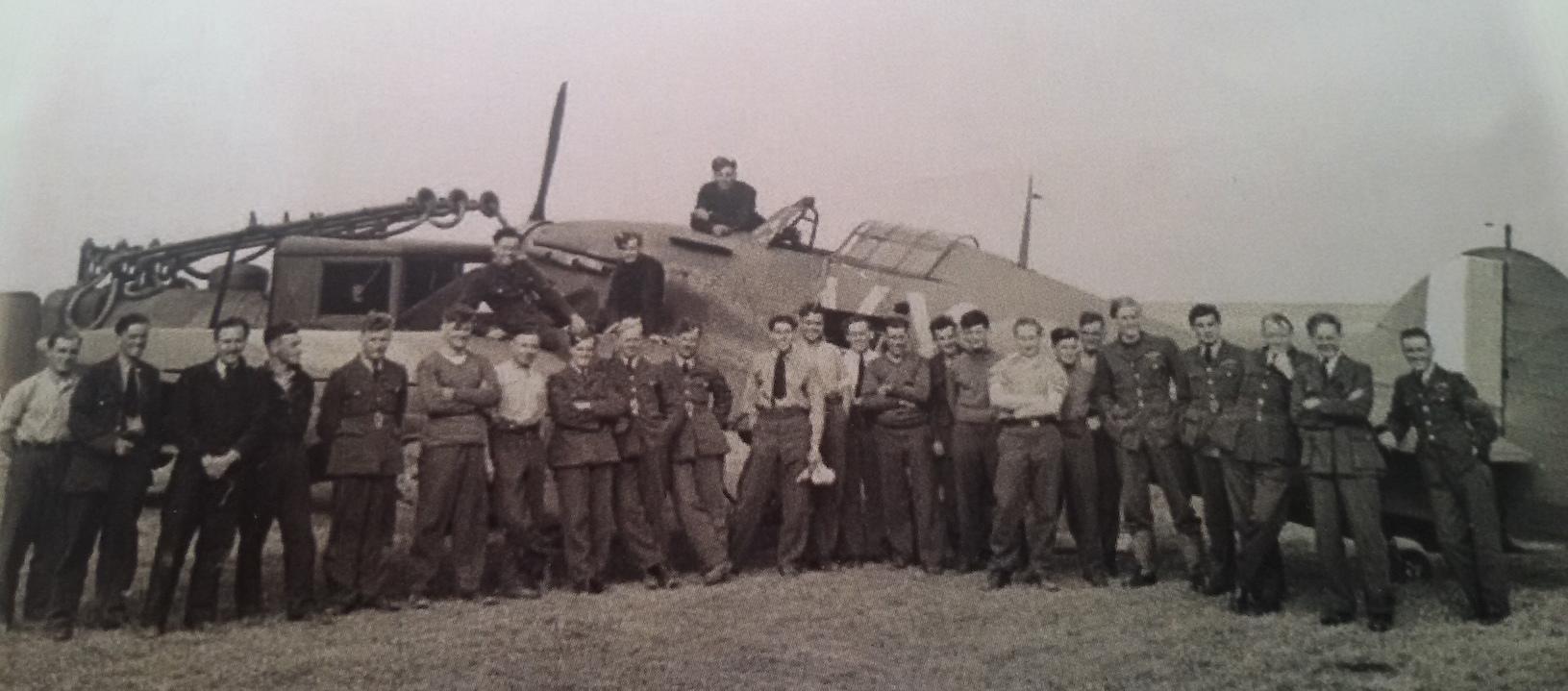 Paddy Hemingway and crew