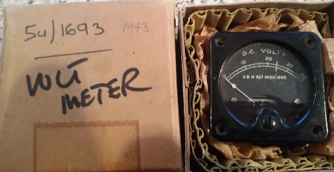 Volt Meter for Hurricane - New and boxed